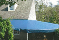 awnings or house lancaster